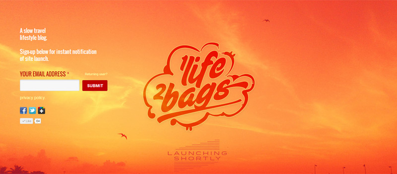 1 Life 2 Bags