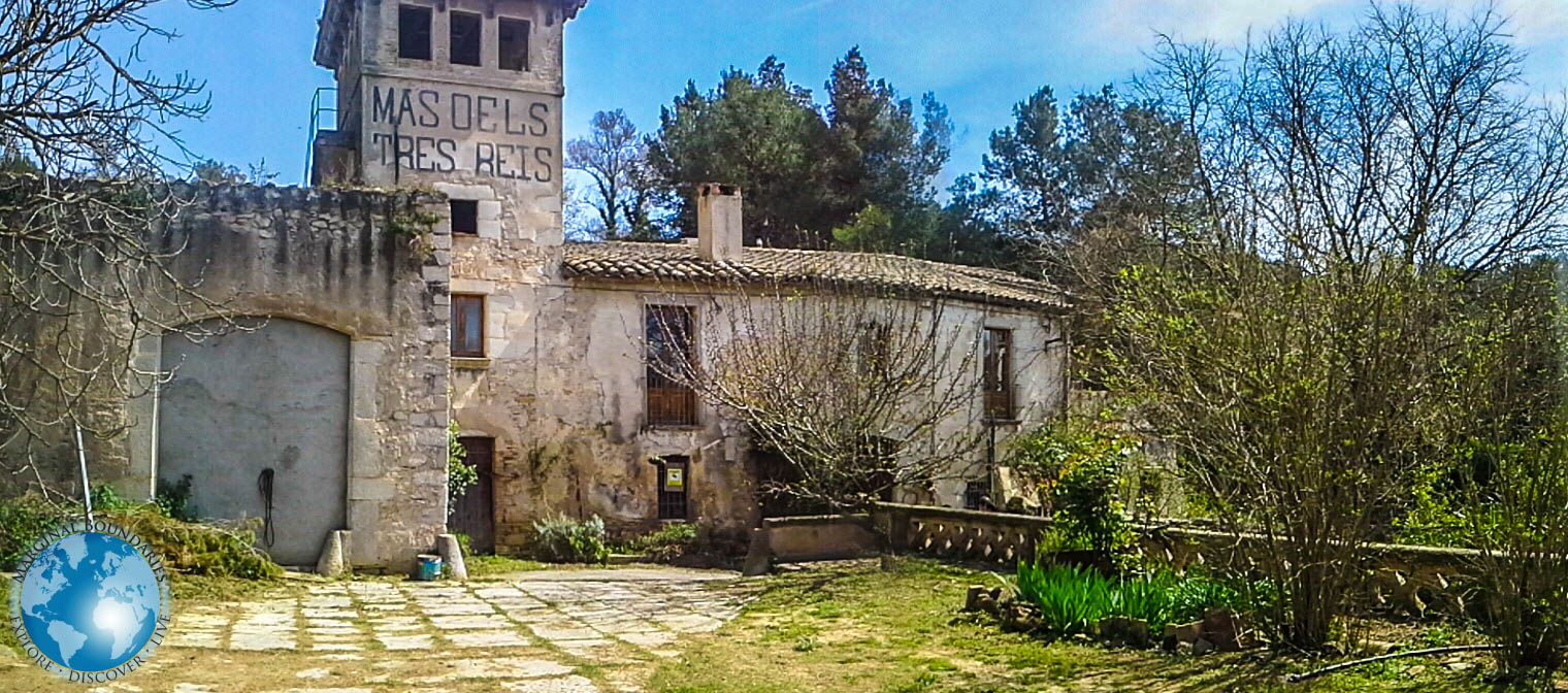 The castle of Babeus in Girona