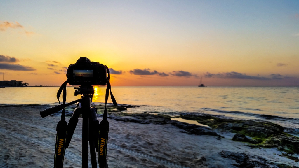 Sunrise in Playa del Carmen