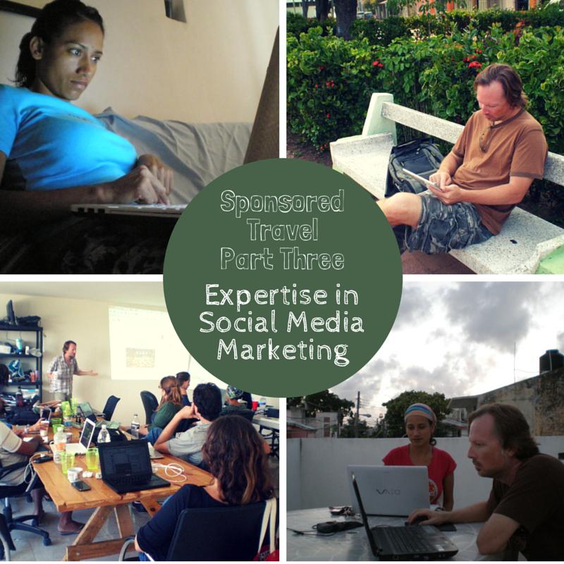 Sponsored Travel - Expertise in Social Media Marketing