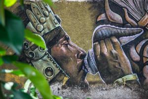 Mayan Street Art in Cancun 2