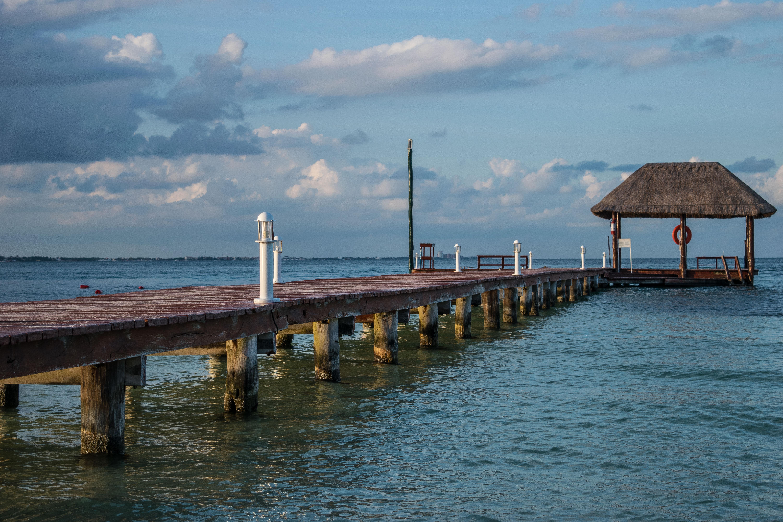 fishing docks at Puerto Morelos