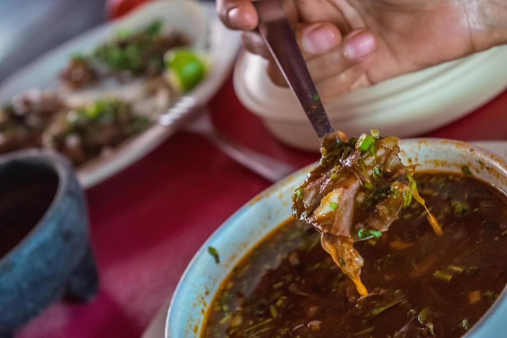 consome de borrega, Restaurante Borrega Cancun