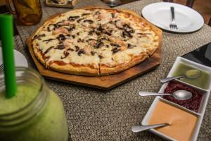 Pizza Paris at Assaggiare, Cancun
