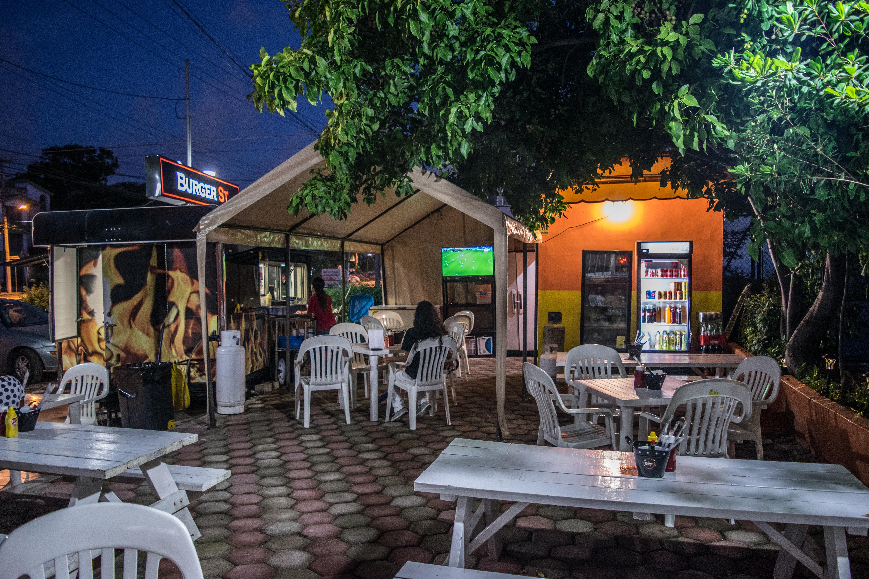 burger st. patio, Cancun