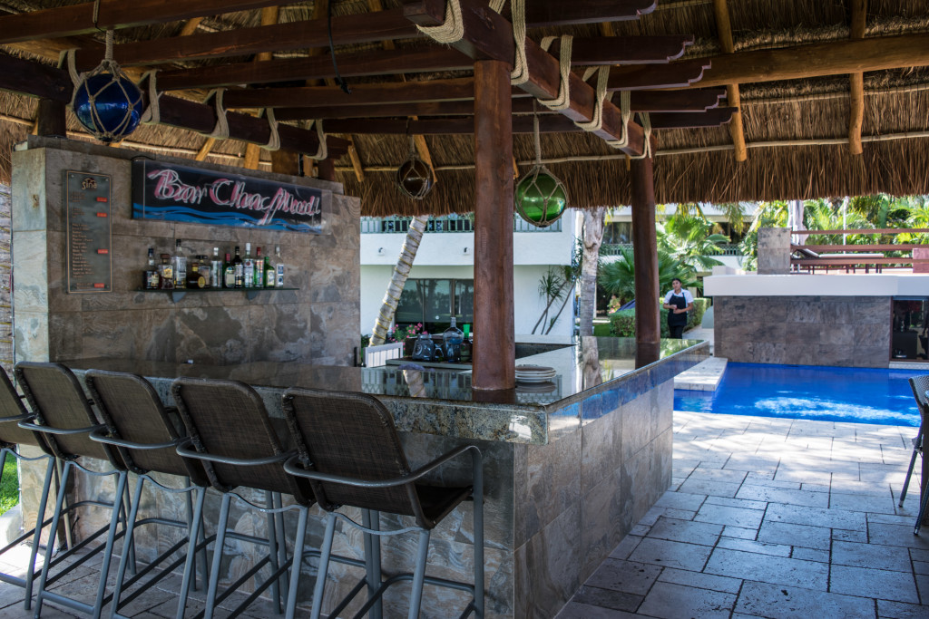 bar chac mool in afternoon