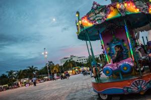 Parque las Palapas in Cancun