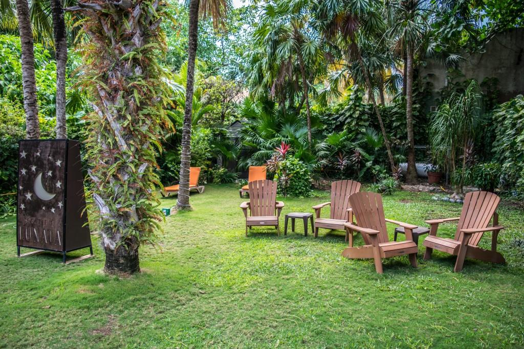 chairs at Hotel Lunata garden