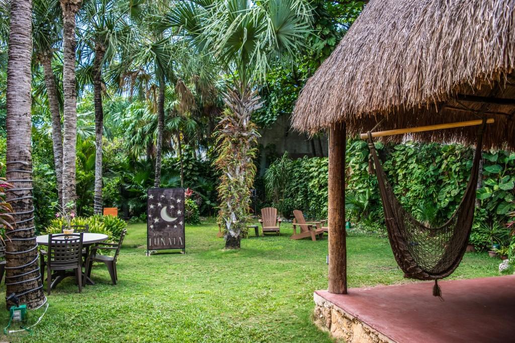 Garden at Hotel Lunata