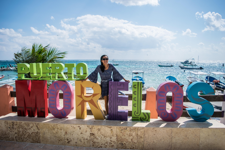 Cris in Puerto Morelos