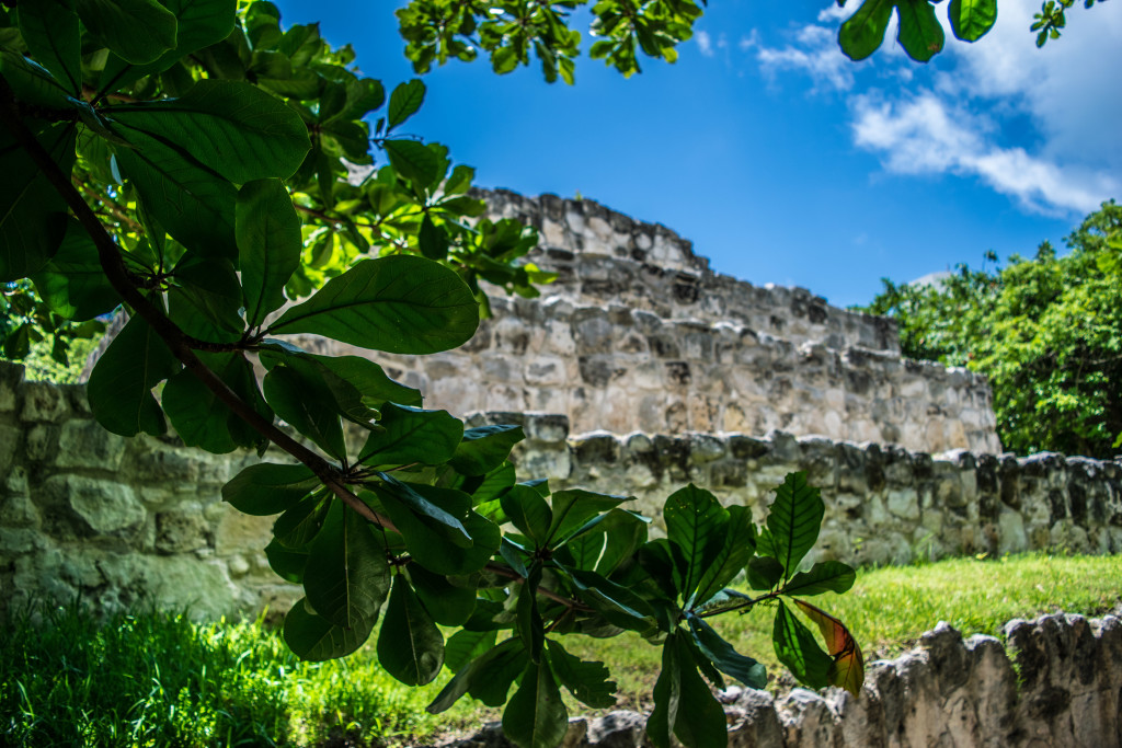 Ruins at Maya Museum, Cancun
