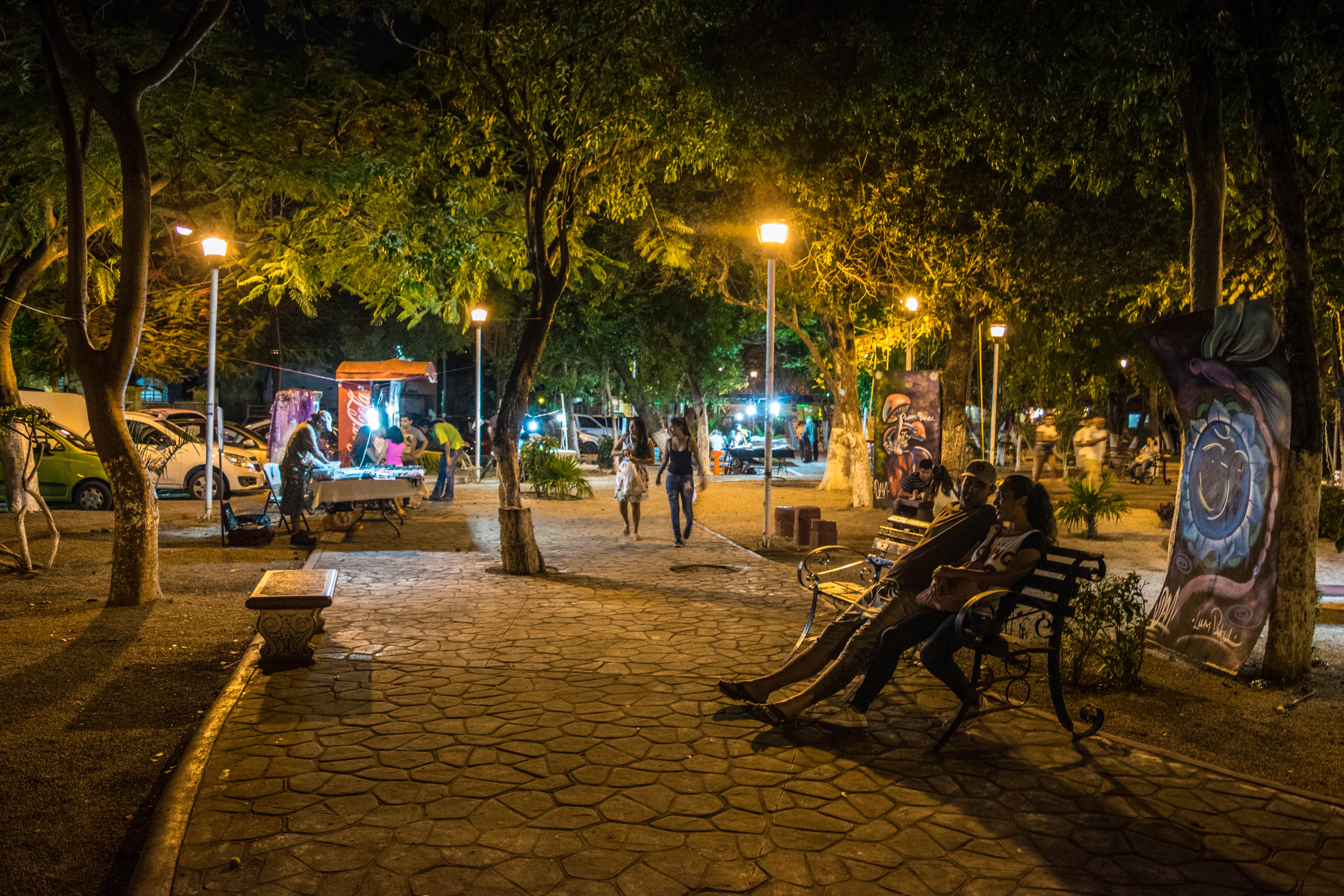 Hippy Park in Cancun