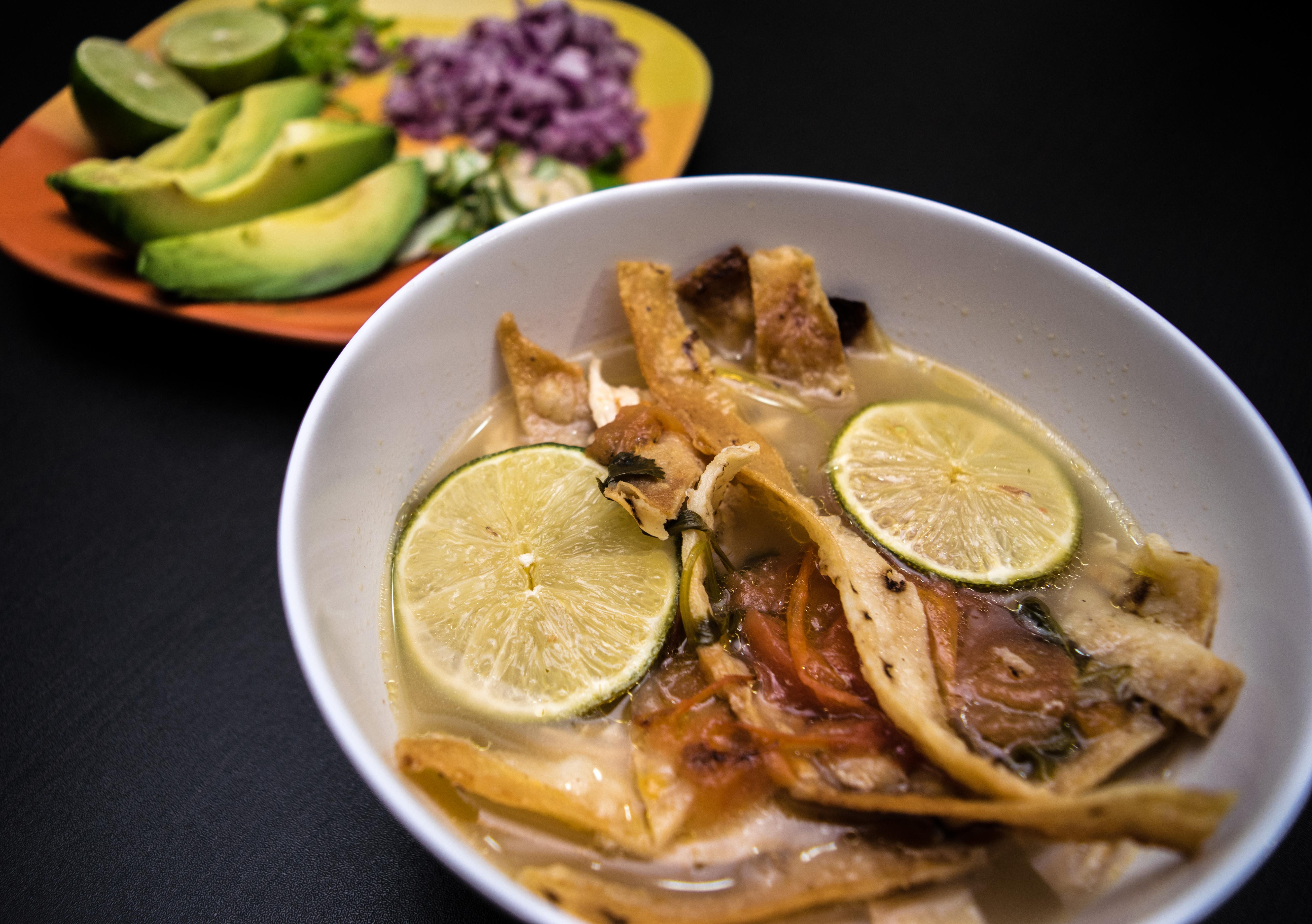 sopa de lima, Yucatán cuisine