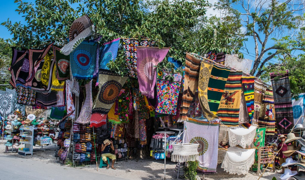 market at Tulum, Mexico