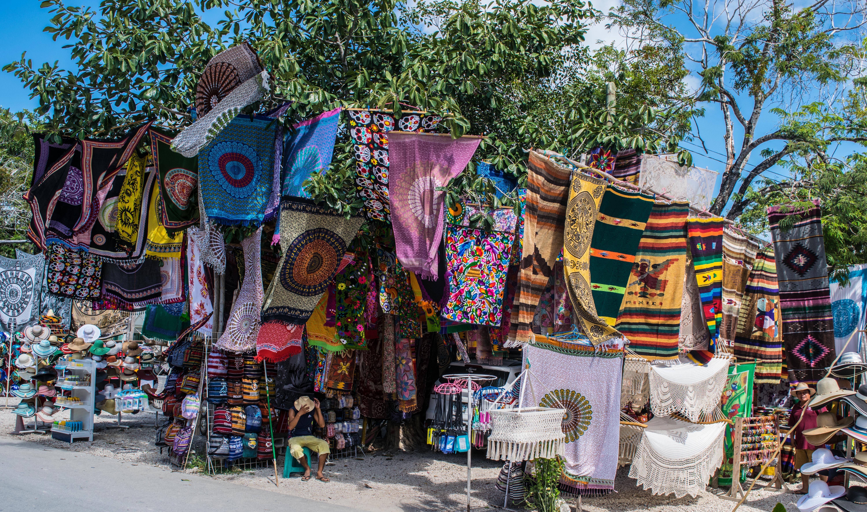 market at Tulum, Mexico