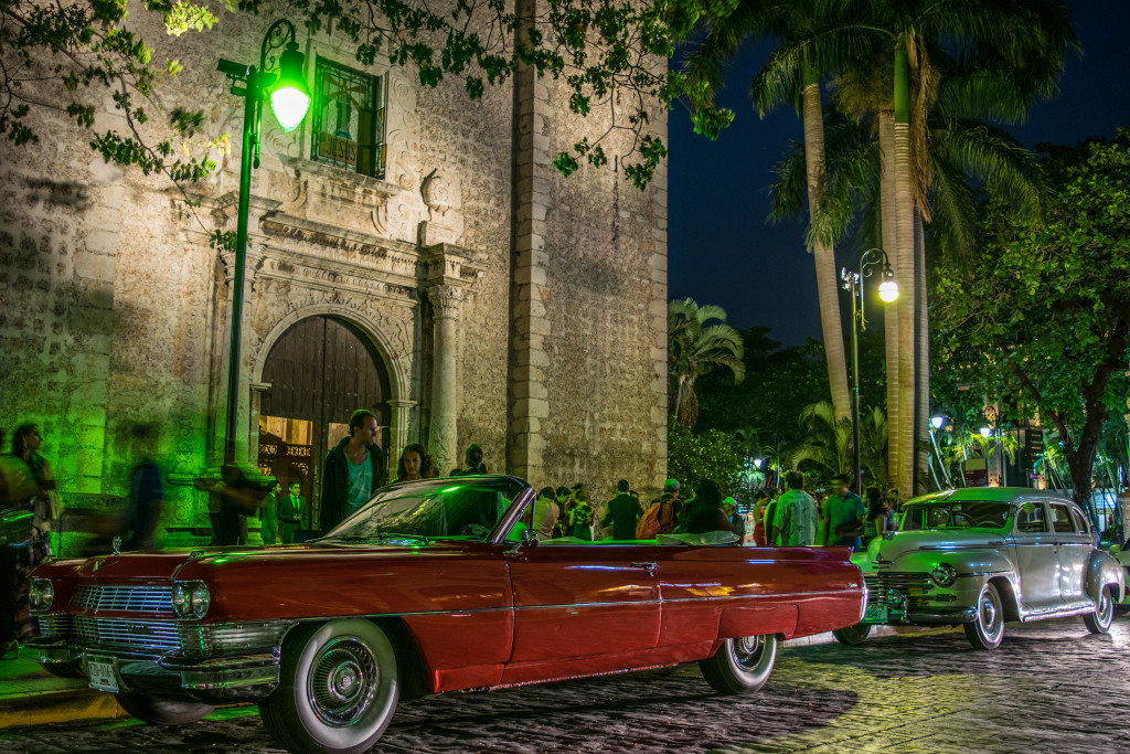 night wedding in Mérida, Yucatán