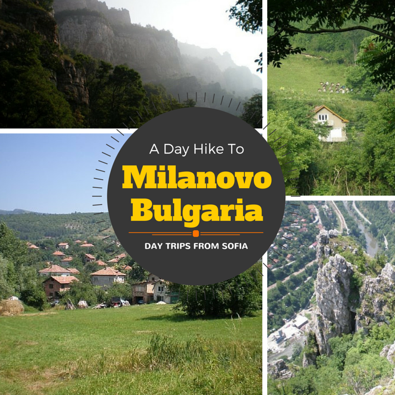 Hiking to Milanovo, Bulgaria