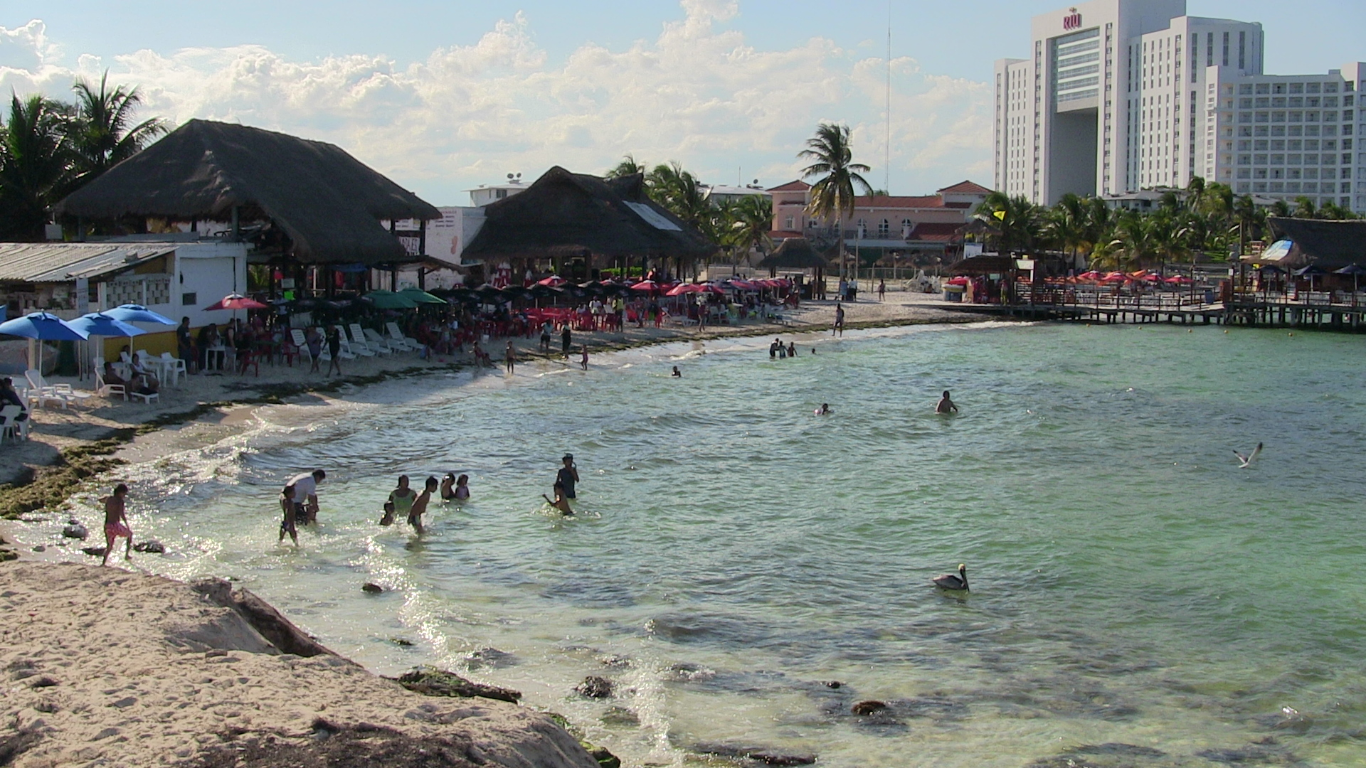Playa Tortuga in Cancun, Mexico