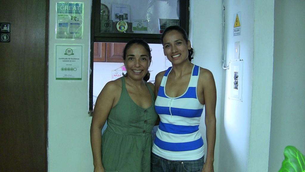 Cris and Malena