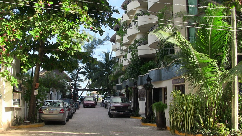 Beachfront hotel