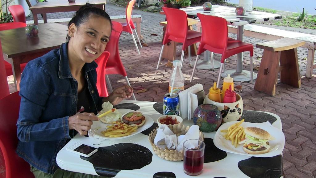 burgers from Vaca Loca