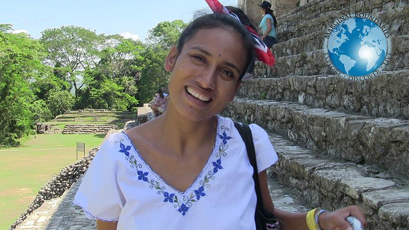 Cris in Palenque