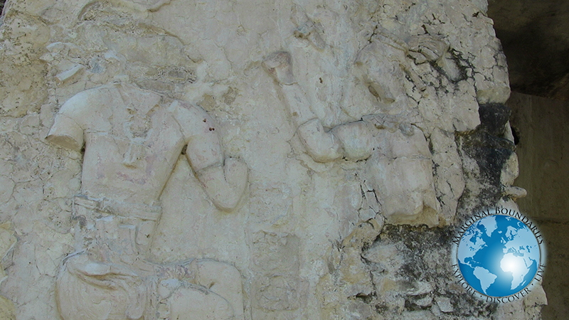 Maya carvings at Palenque
