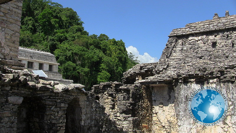 Forest of Palenque and Ruins