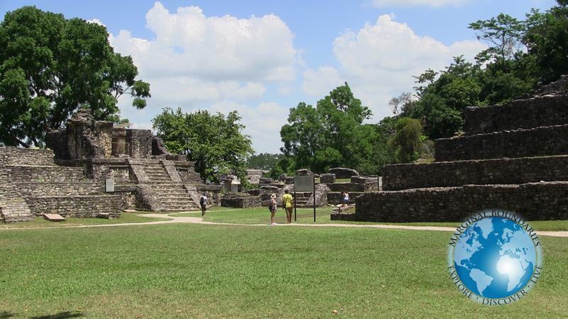 plaza at Palenque