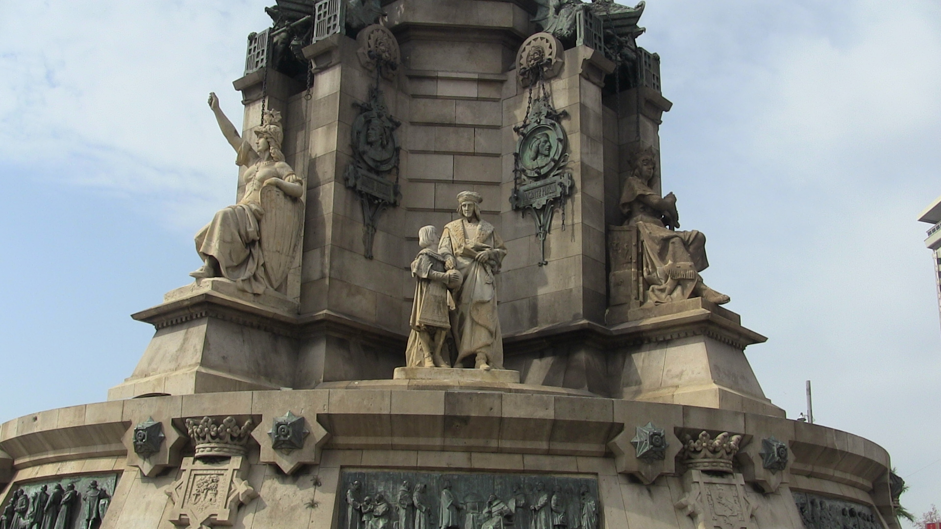 Columbus Monument, Barcelona, Spain