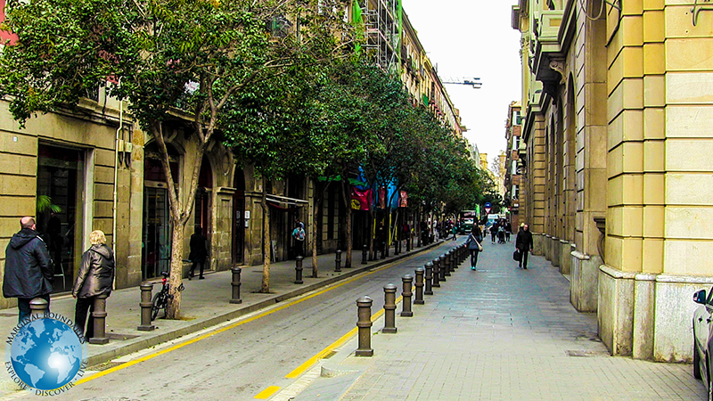 Side Street in Barcelona