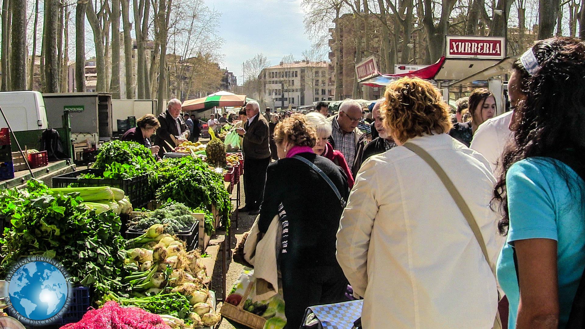 Cris at the Devesa Market