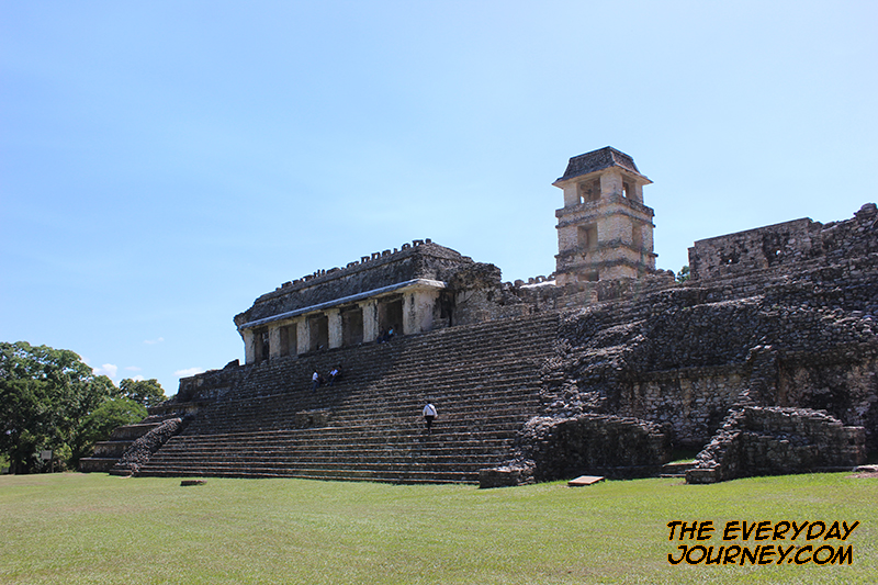 tower at the Palenque Palace