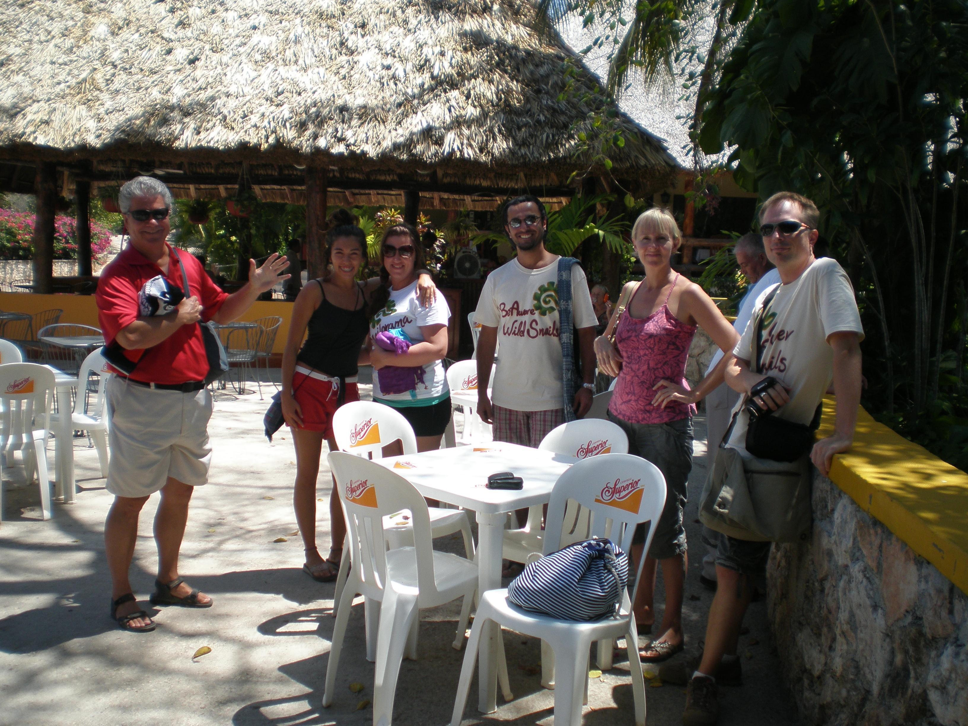 Destination Freedom, Ik Kil Cenote