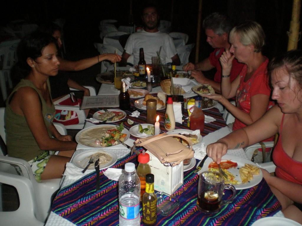 Dinner at Con Muchos in El Panchan