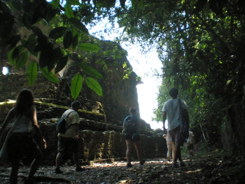 Destination Freedom group in Palenque, Mexico