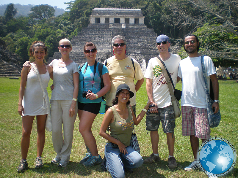 Group in Palenque