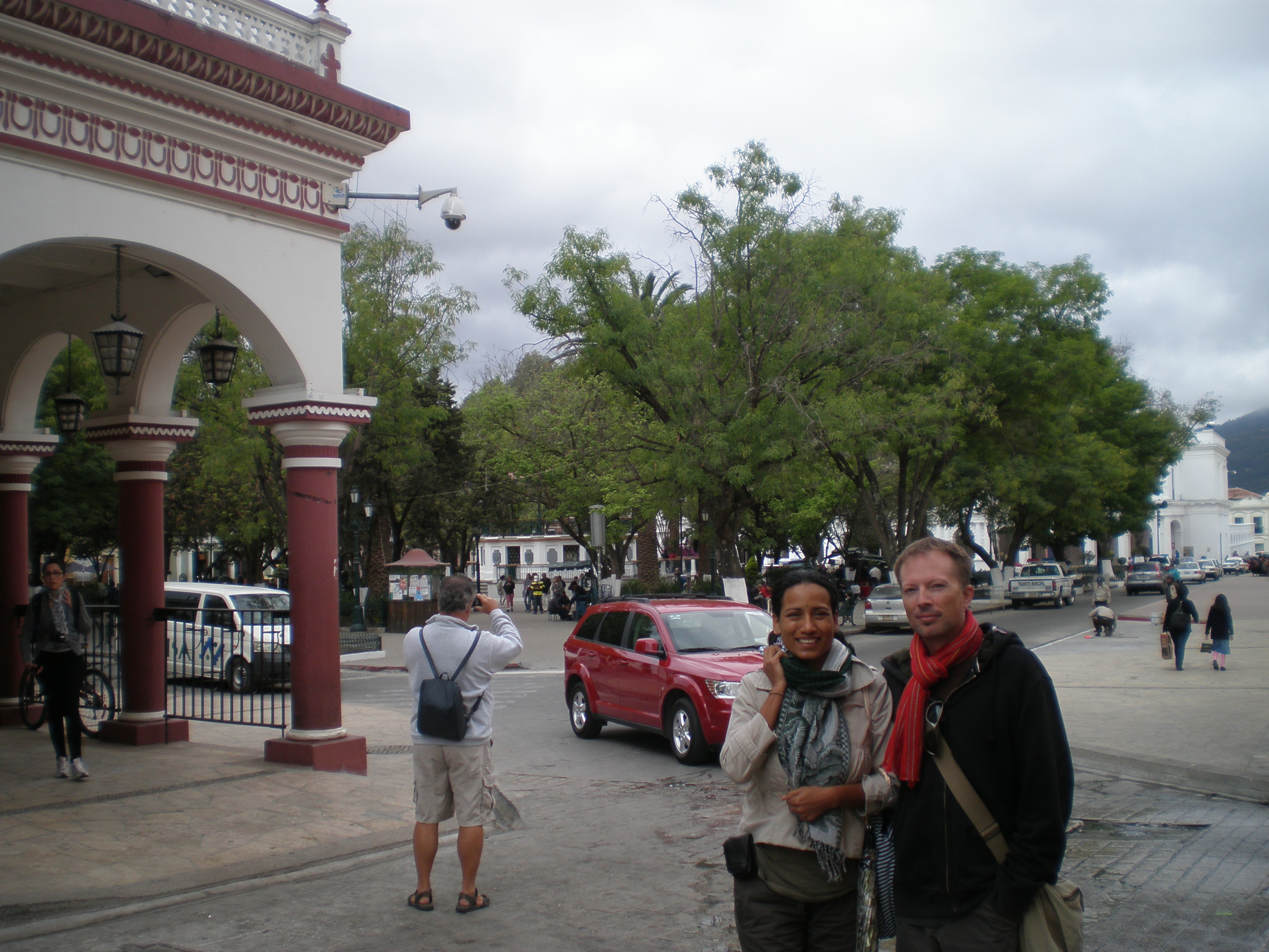 Cris and Tim in San Cristobal de las Casas