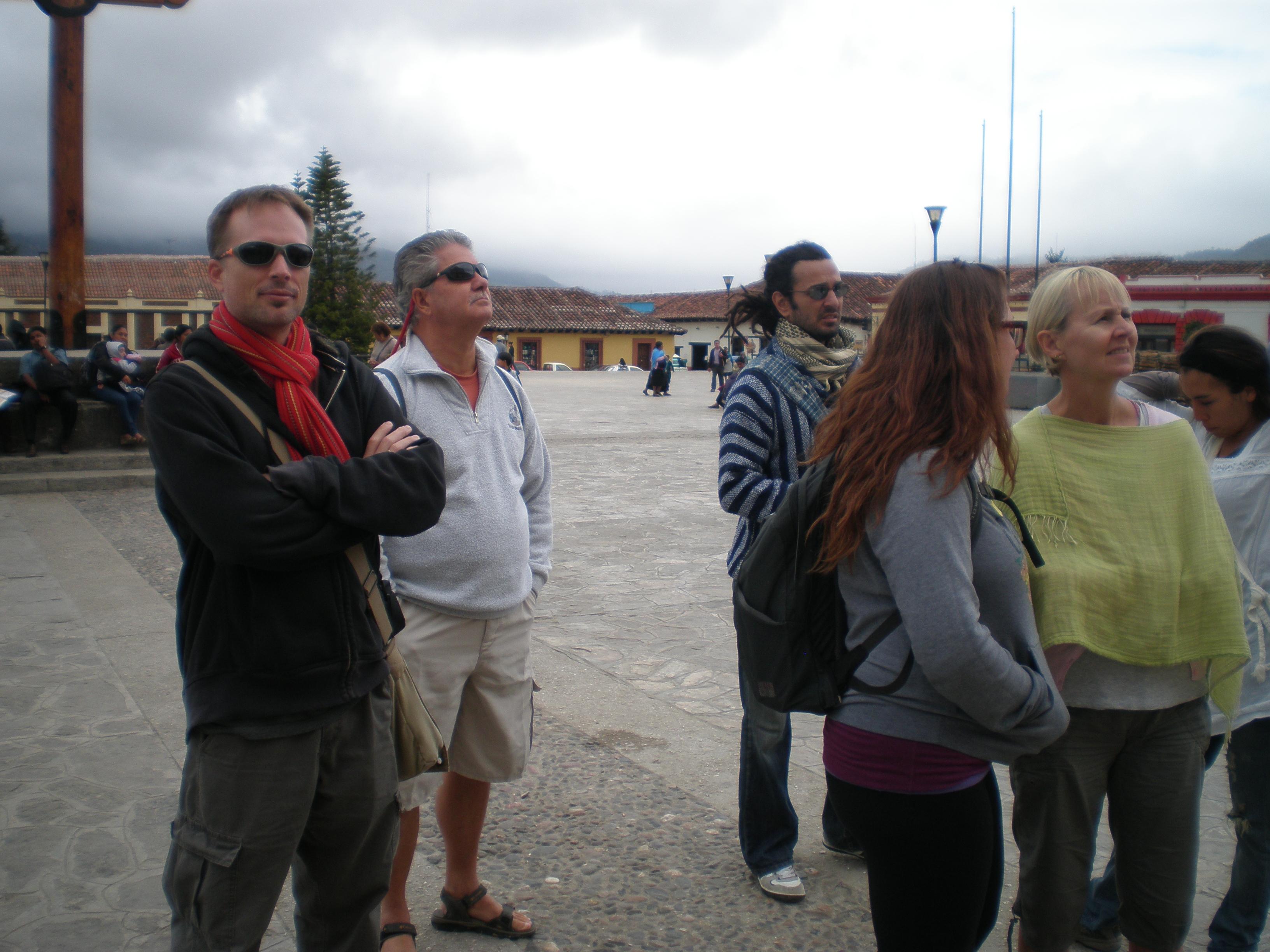 Destination Freedom group in San Cristobal de las Casas