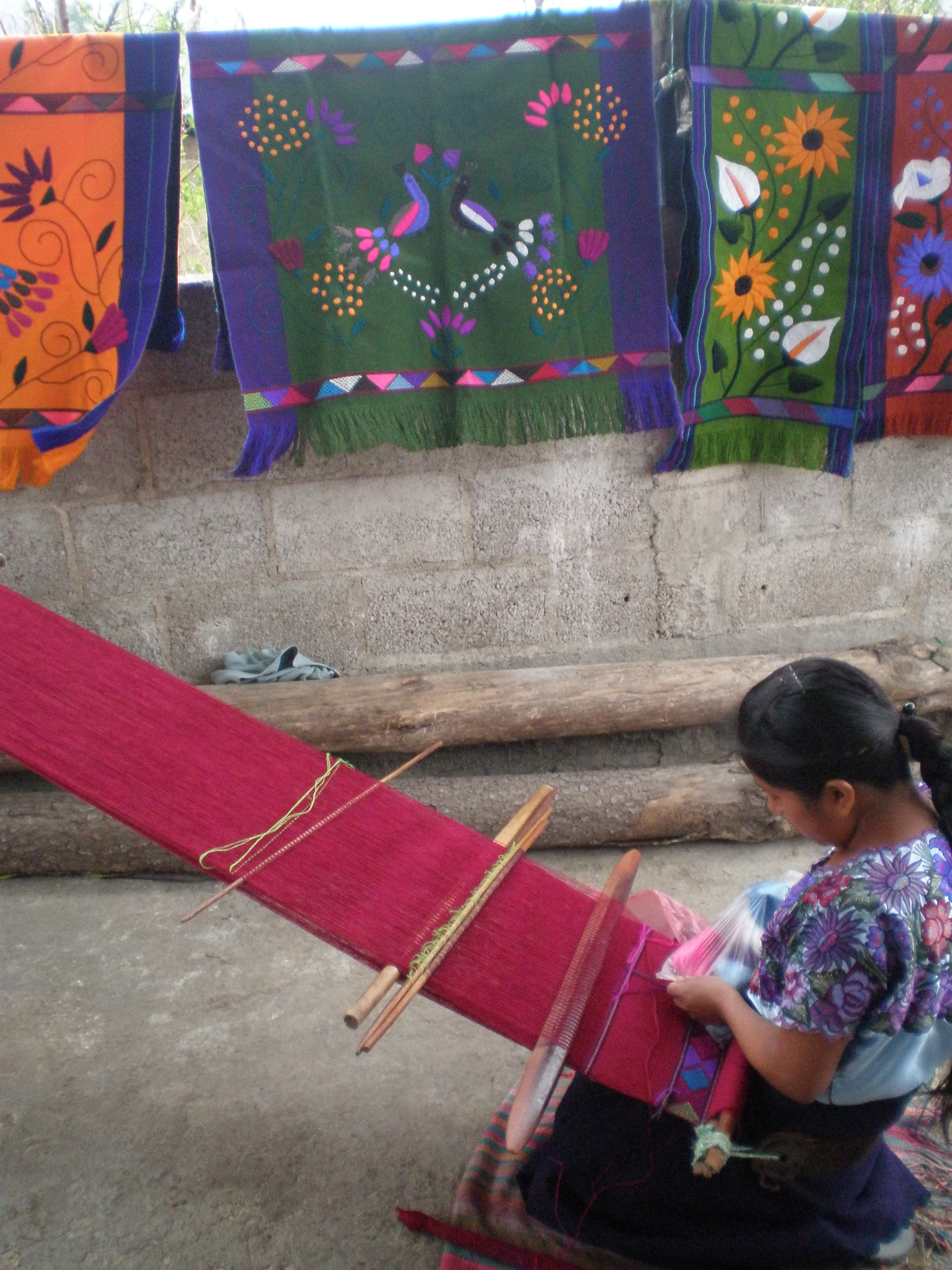 Weaver in San Juan Chamula