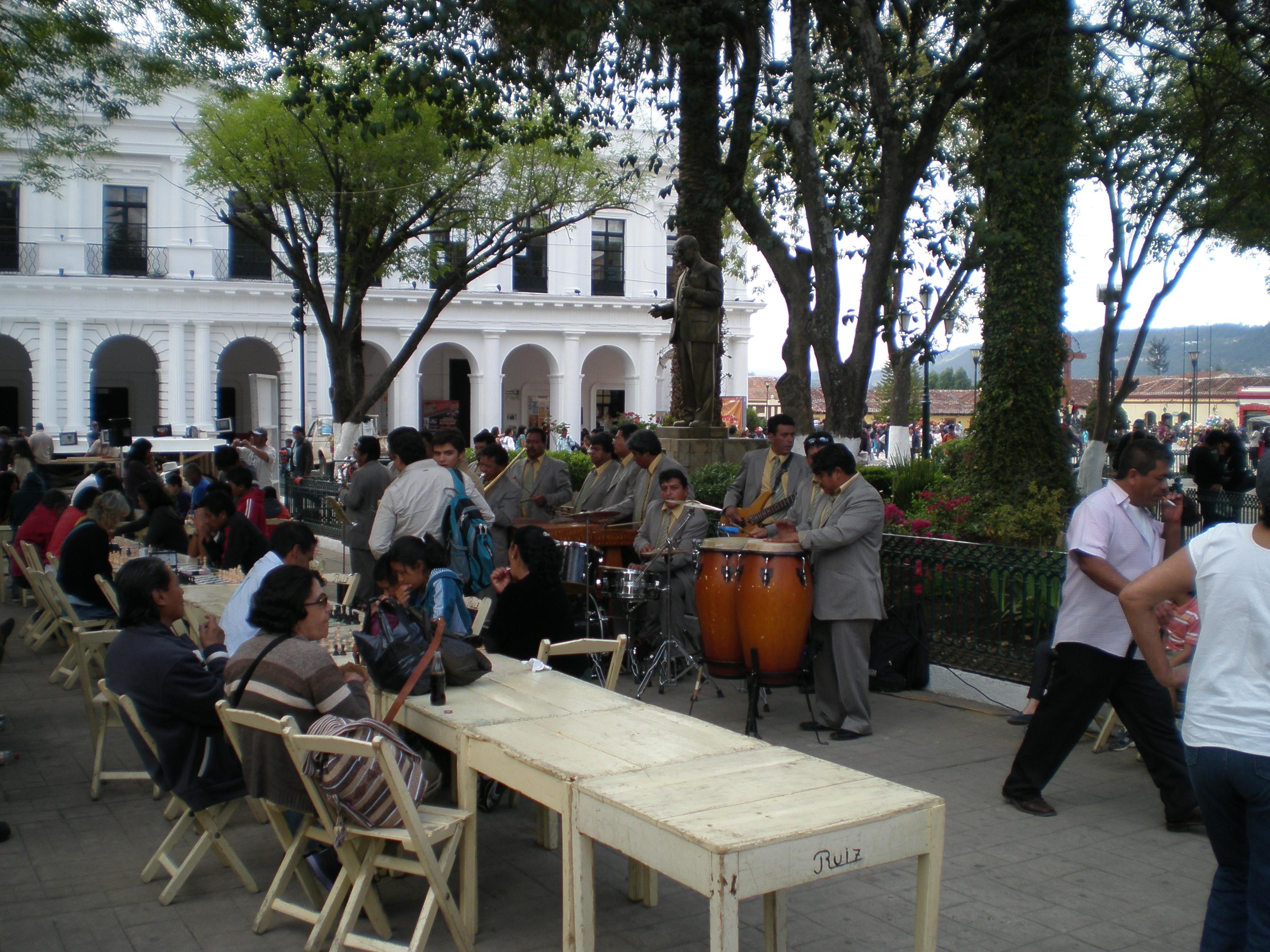 Musicians in San Cristobal de las Casas