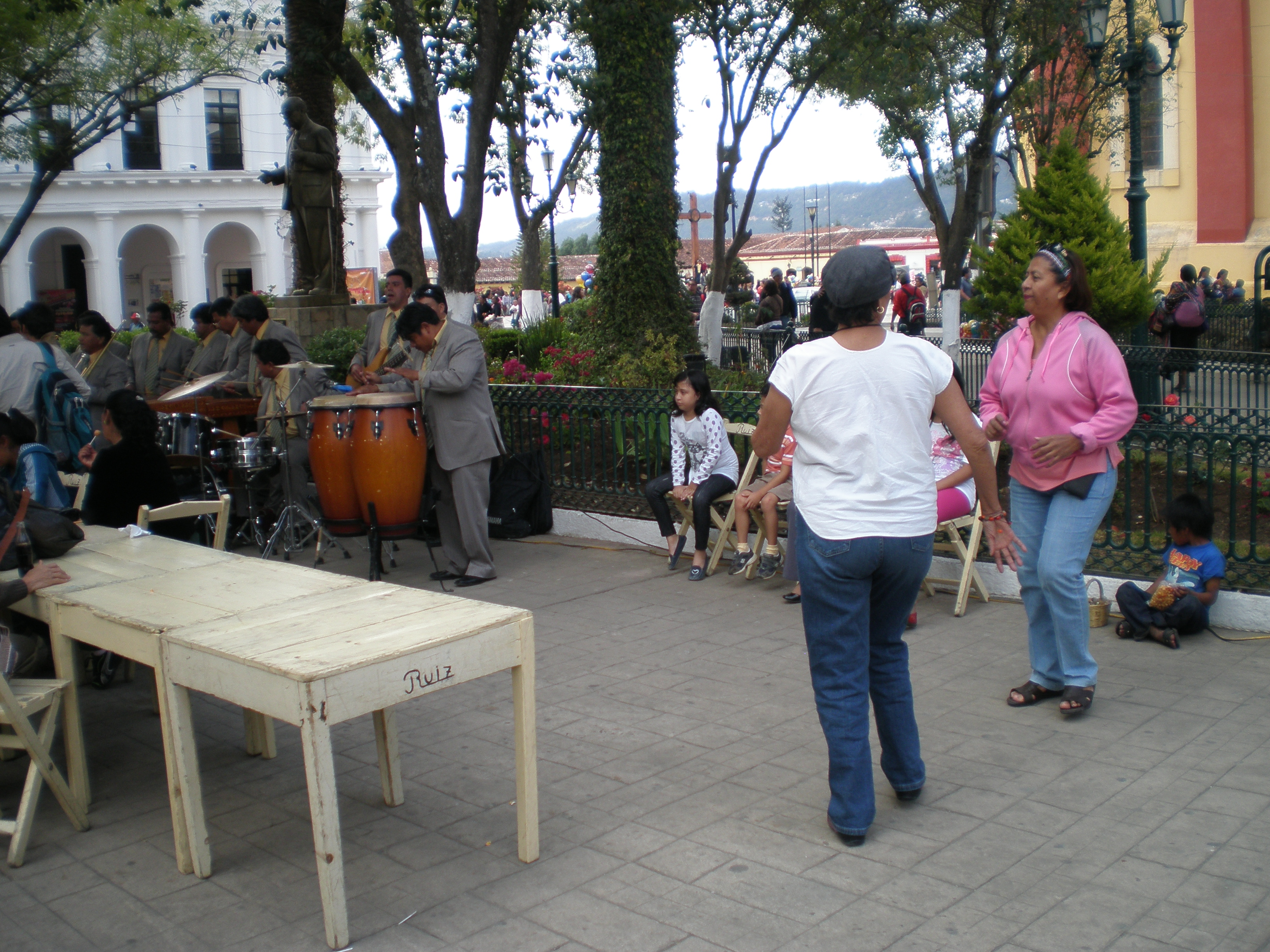 Dancers in San Cristobal de las Casas