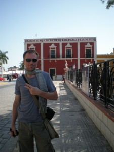 Tim in Campeche, Mexico