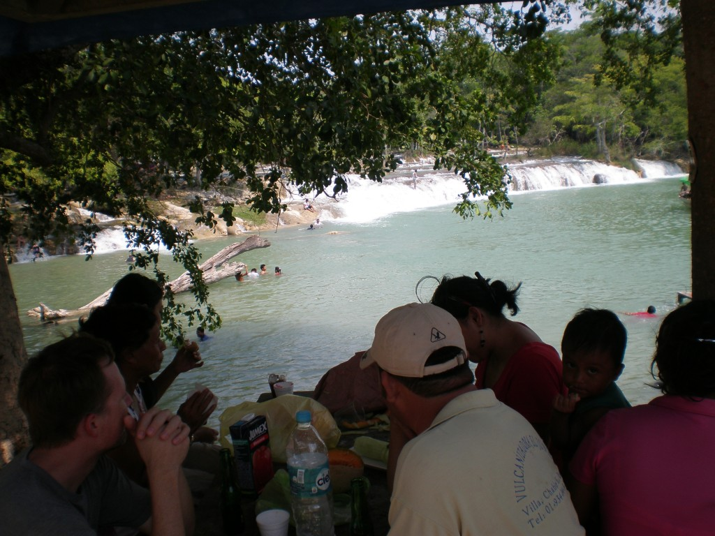 Picnic at the Cascadas Reformas