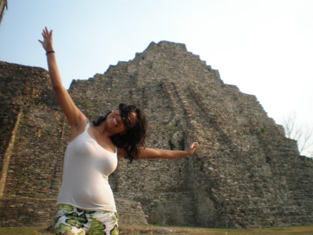 Cristina at Reformas Ruins
