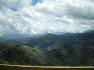 Mountains Near Manizales