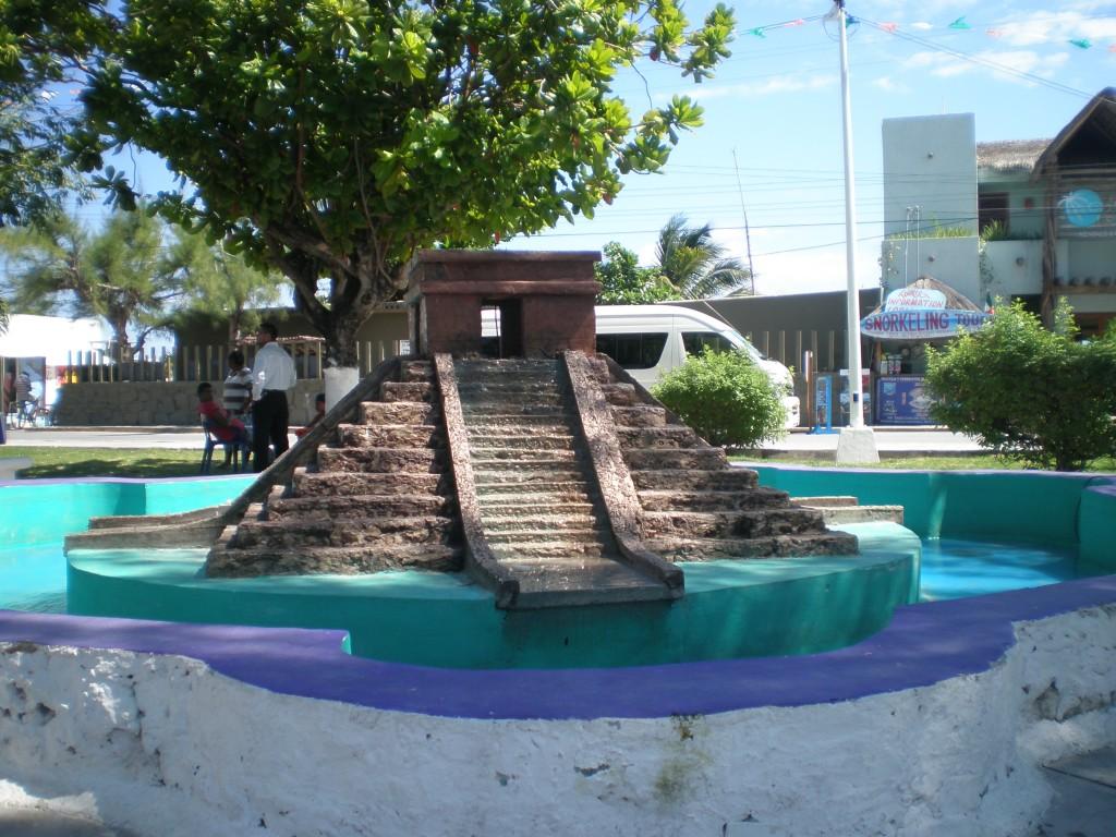 Zocalo pyramid