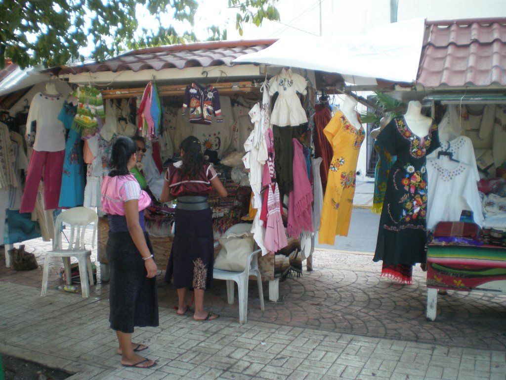 Maya clothing vendors