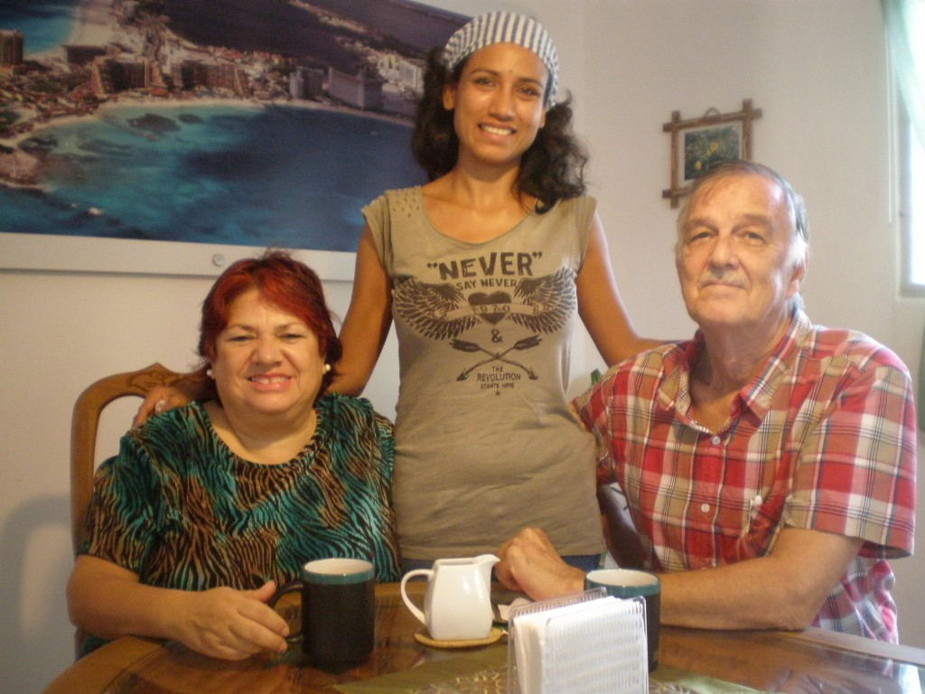 Martha, Cris and Dave