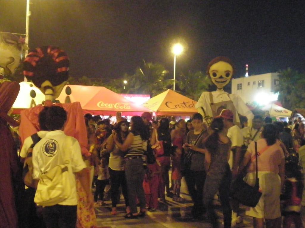 Day of the Dead celebration in Cancun